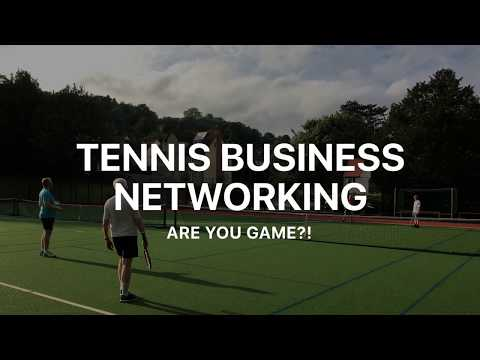 networking tennis business