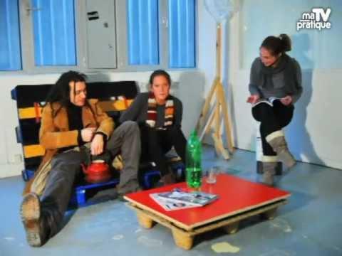 id e d co faire de la r cup 39 pour son salon youtube. Black Bedroom Furniture Sets. Home Design Ideas