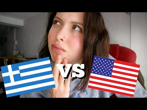 DIFFERENCES BETWEEN AMERICANS AND GREEKS // Travel Vlog #5