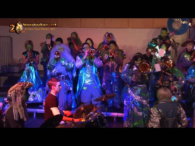 20. int. Monsterkonzert der Emser Palast-Tätscher -  Spa?ltaschra?nzer Feldkirch