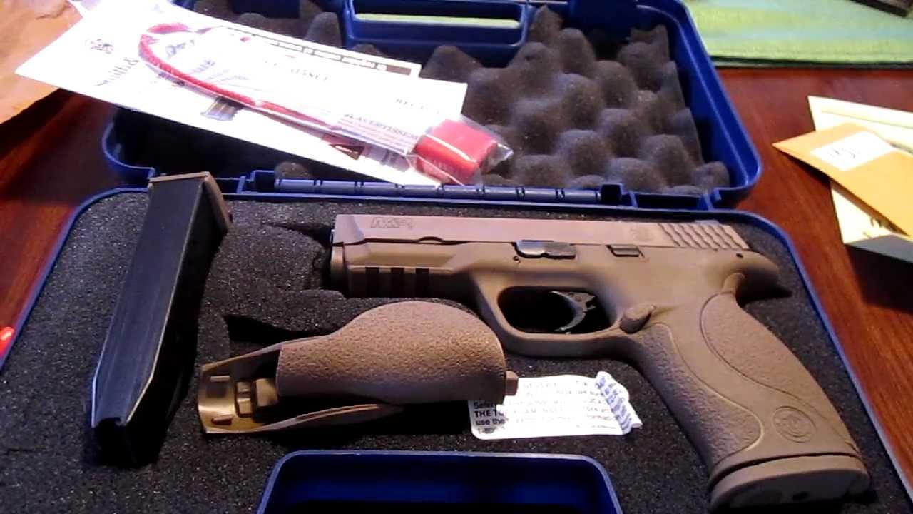 Smith & Wesson M&P VTAC 9mm Unboxing