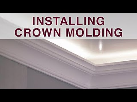 Installing Crown Molding - DIY Network