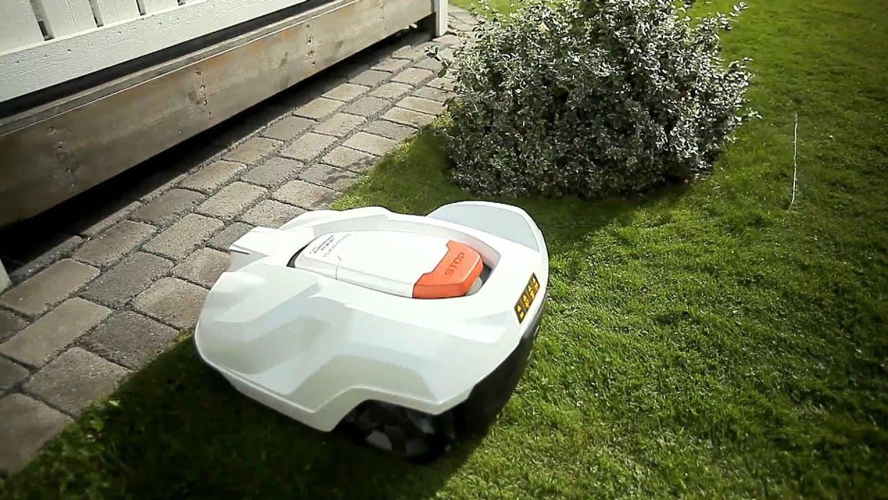 husqvarna tondeuse robot automower introduction youtube. Black Bedroom Furniture Sets. Home Design Ideas