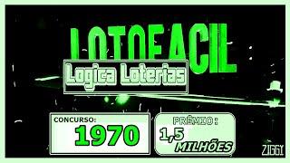 Dicas Lotofácil Concurso 1970 Sexta Feira 22 05 2020   1970 - Resultado Lotofacil Concurso 1969