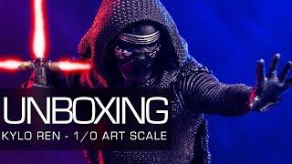 Unboxing - Star Wars: Episode VII Kylo Ren 1/10 Art Scale Iron Studios
