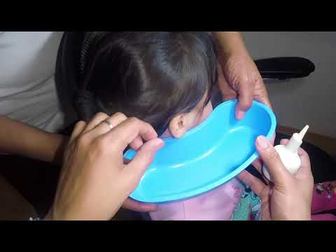 Little Girl's Hard & Dry Earwax Removal