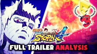 NARUTO STORM 4 E3 2015 - NEW Trailer Gameplay  [FULL REVIEW ANALYSIS]