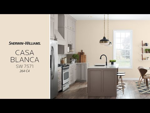 November 2017 Color of the Month:  Casa Blanca - Sherwin-Williams