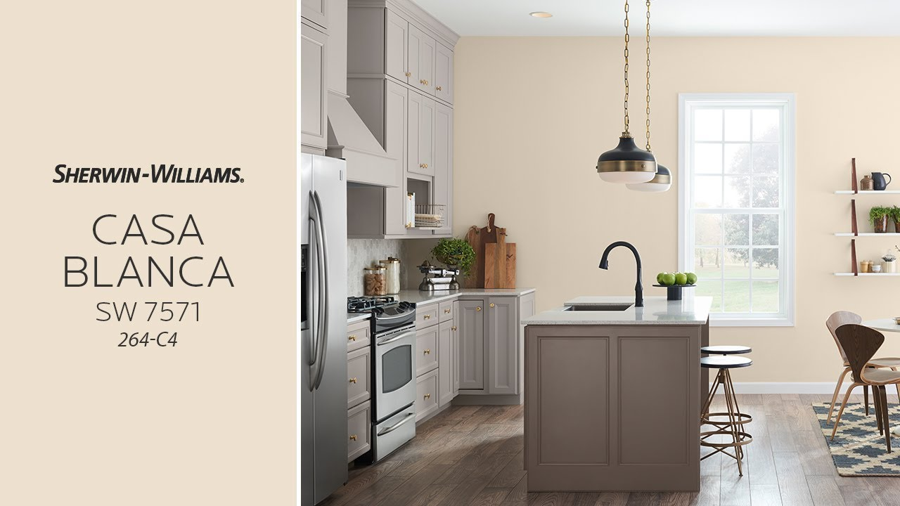 November 2017 Color Of The Month Casa Blanca Sherwin Williams