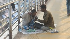 Gambling Joint Adda For Prostitutes Drug Addicts Drunks ,, Our Bandra Skywalk