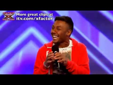 Marcus Collins - Signed, Sealed, Delivered I'm Yours - The X Factor 2011 [Audition]