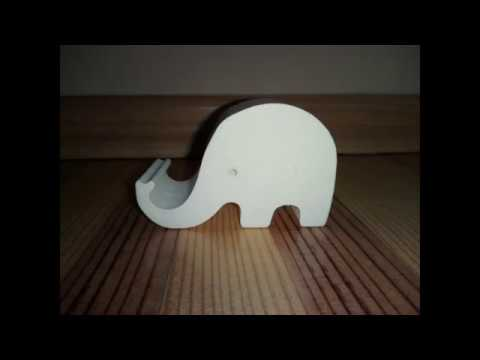 Phone holder elephant preview