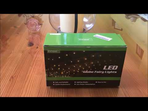 Innoo Tech Led String Lights Globe Review!