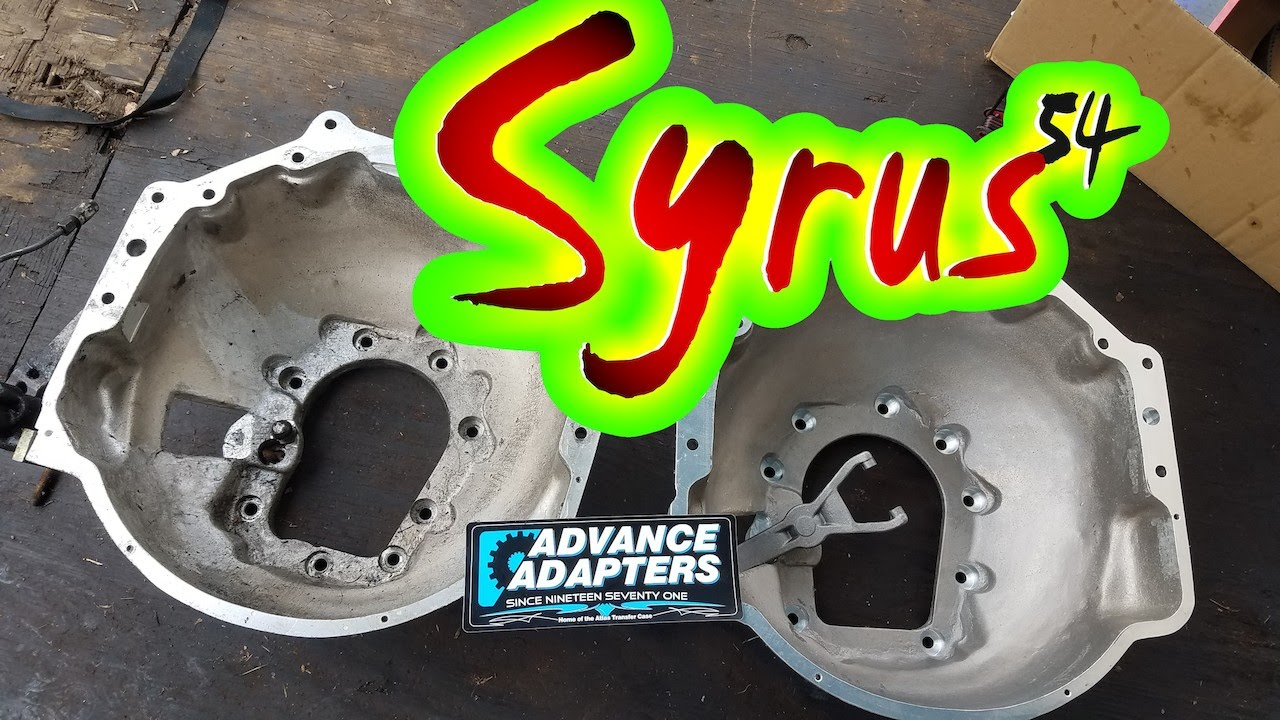 Advance Adapters Bellhousing Notes (Chevy Engine to Toyota Transmission)