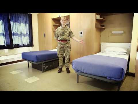 How to make a bed - Squared Away - Army Jobs
