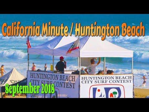 Huntington Beach / California Minute / Surf Contest