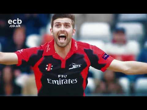 CSK Bowler Mark Wood Wickets Compilation