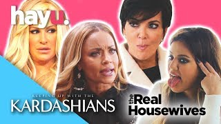 Kardashians VS Real Housewives SASS OFF! PART 2 | Franchise Face Off | hayu