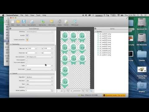 2d Thursday - TexturePacker and Tiles
