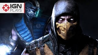 Mortal Kombat X: Sub-Zero and Scorpion Changes and Variations - IGN Plays