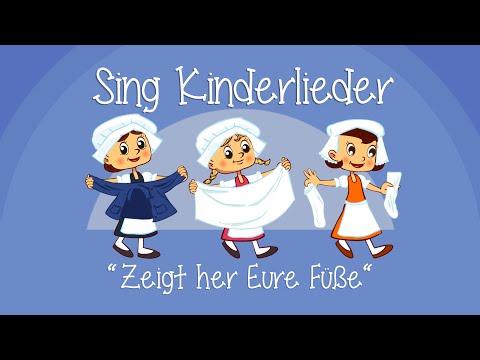 Zeigt her Eure Füße - Kinderlieder zum Mitsingen | Sing Kinderlieder