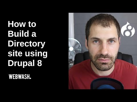 How to Build a Directory site using Drupal 8 thumbnail