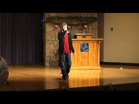 Oh Holy Night sung by Thad Higgins