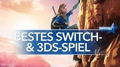 Das beste Nintendo Switch- & 3DS-Spiel - Macht Mario oder Link das Rennen? - GameStars 2017