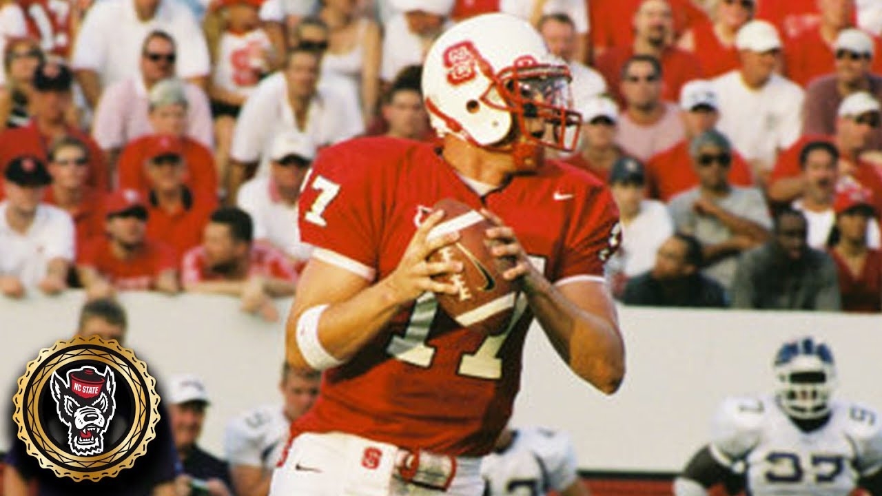 Philip Rivers College Highlights >> Philip Rivers Nc State Highlights Acc Icon Youtube