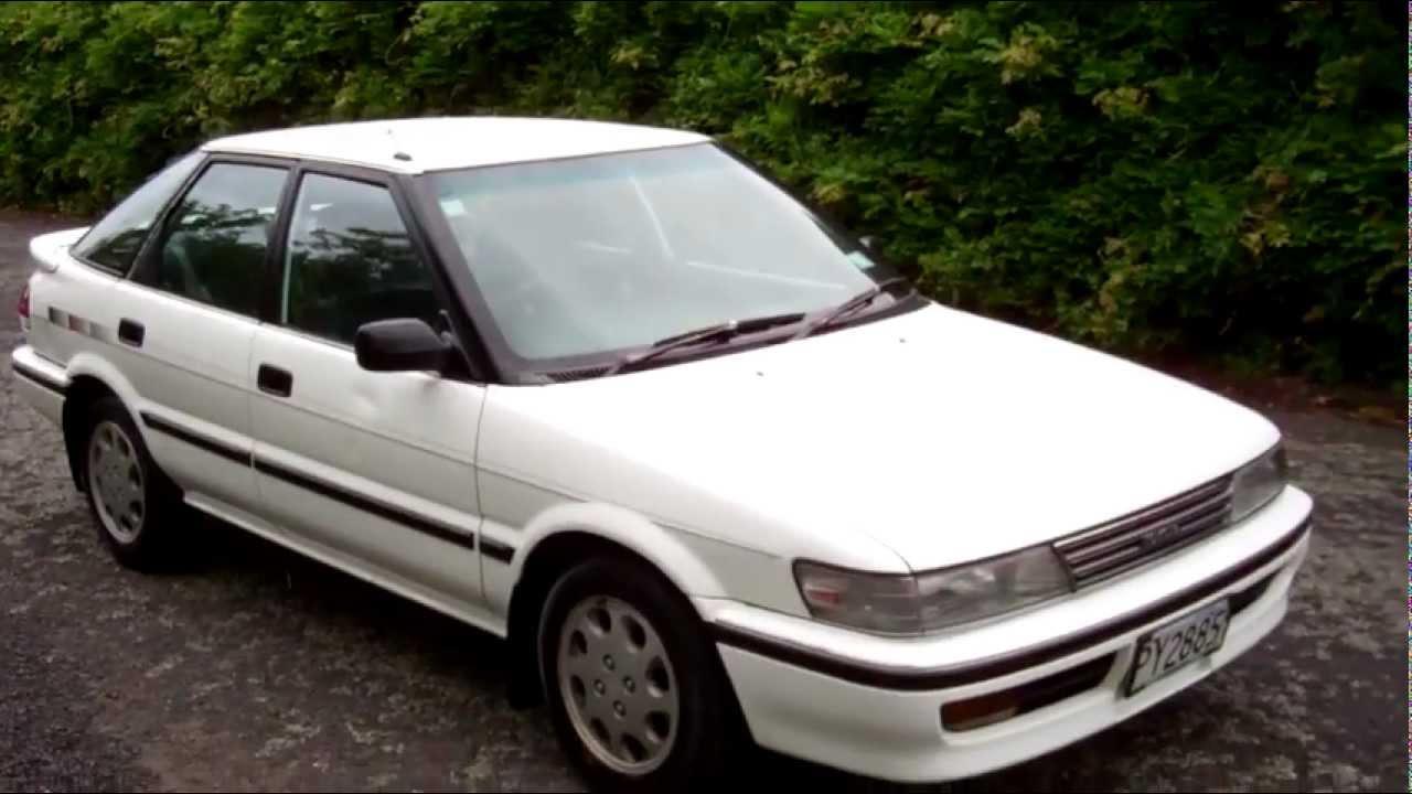 1991 toyota corolla hatchback
