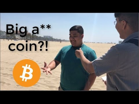 😃 Asking people about Bitcoin #01 👥