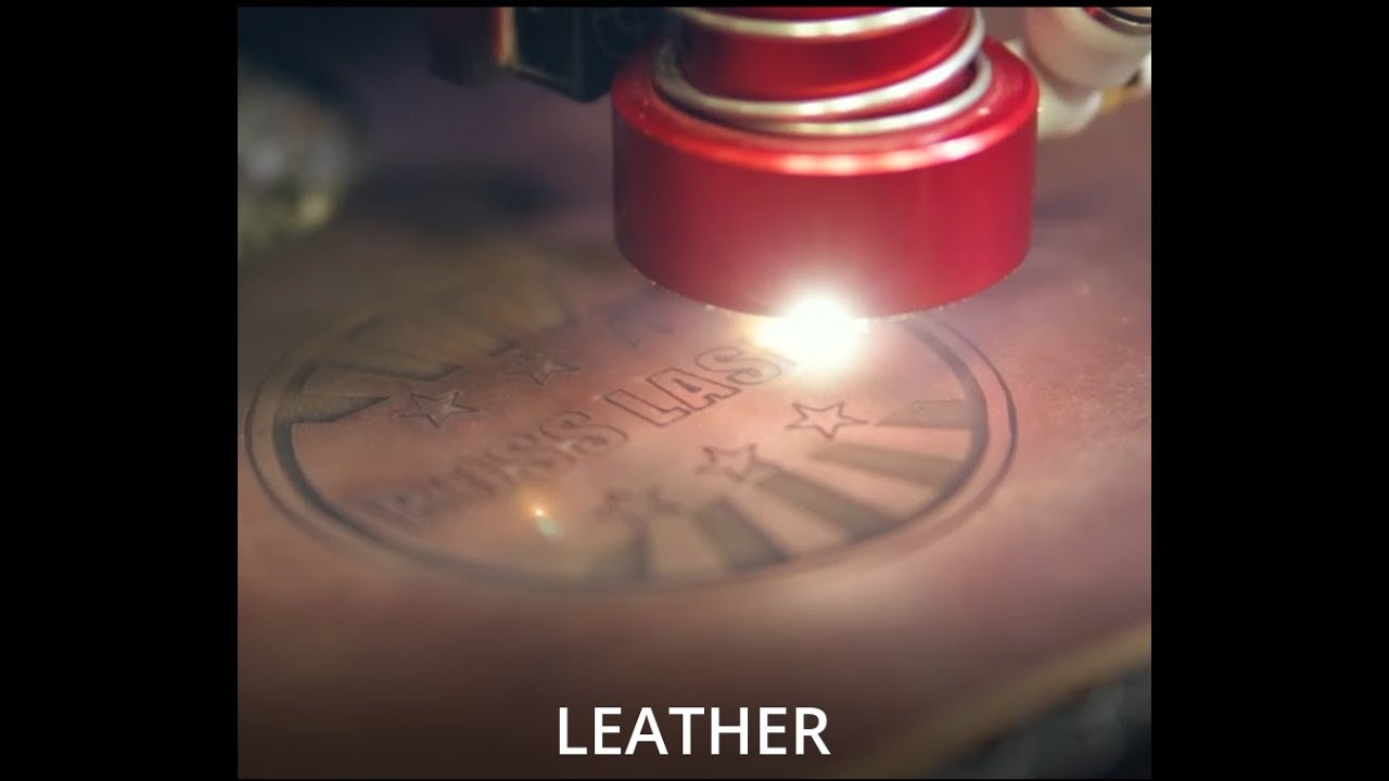 Hobby Laser Cutting & Engraving Leather - Boss Laser