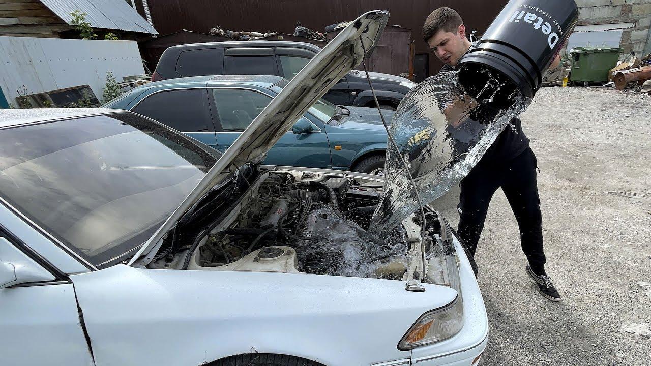 Как правильно мыть ДВИГАТЕЛЬ и ПОДВЕСКУ автомобиля! #ОТМЫЛИ