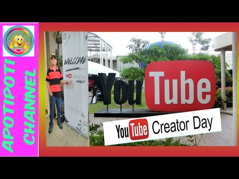 YOUTUBE CREATOR DAY MANILA NOV. 19 , 2016 - APOTIPOTI 1ST EVENT ATTENDED