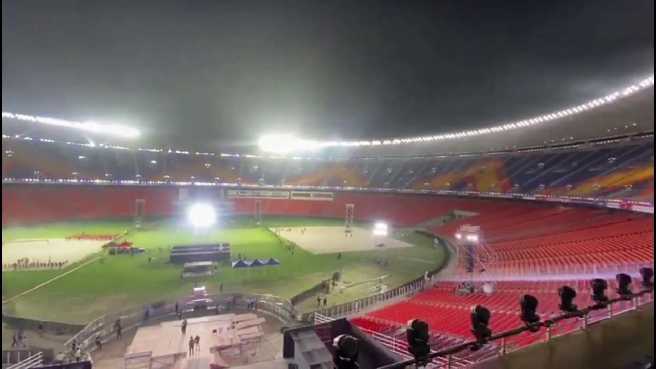 Motera Stadium at Night | Motera Cricket Stadium Ahmedabad | Night View of  Biggest Stadium in World - YouTube