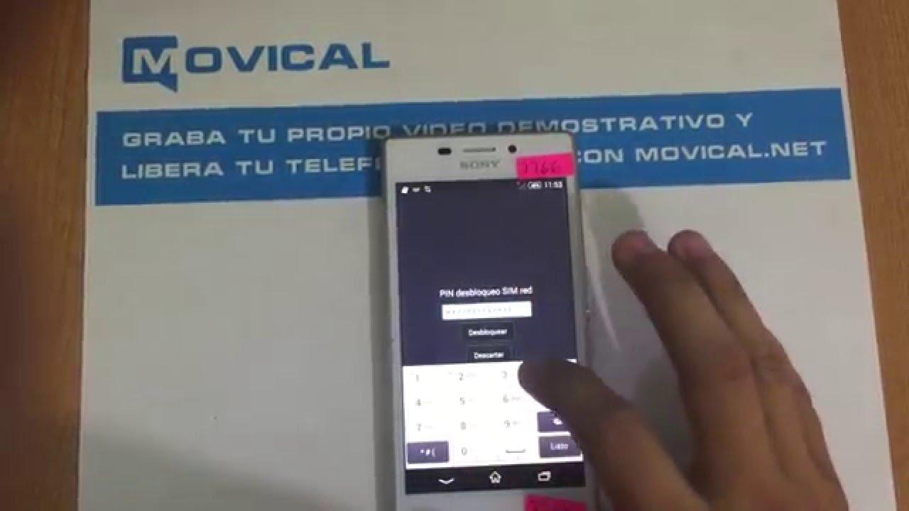 Desbloquear sony xperia m2 liberar d2306 de movistar - Movical net liberar ...