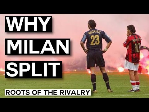 Why A.C. Milan and Inter Milan Split Up: The Milan Derby (Roots of the Rivalry)