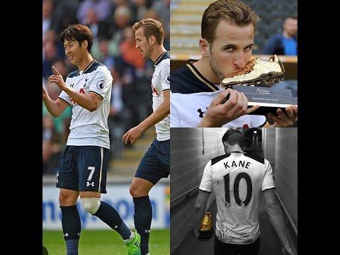 Tottenham Hotspur vs Hull City 7-1 Harry Class A Co-Kane Wins the Golden Boot