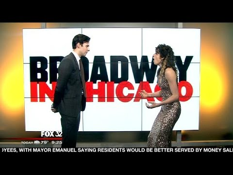 Paige Faure and Andy Jones perform song from 'Cinderella'