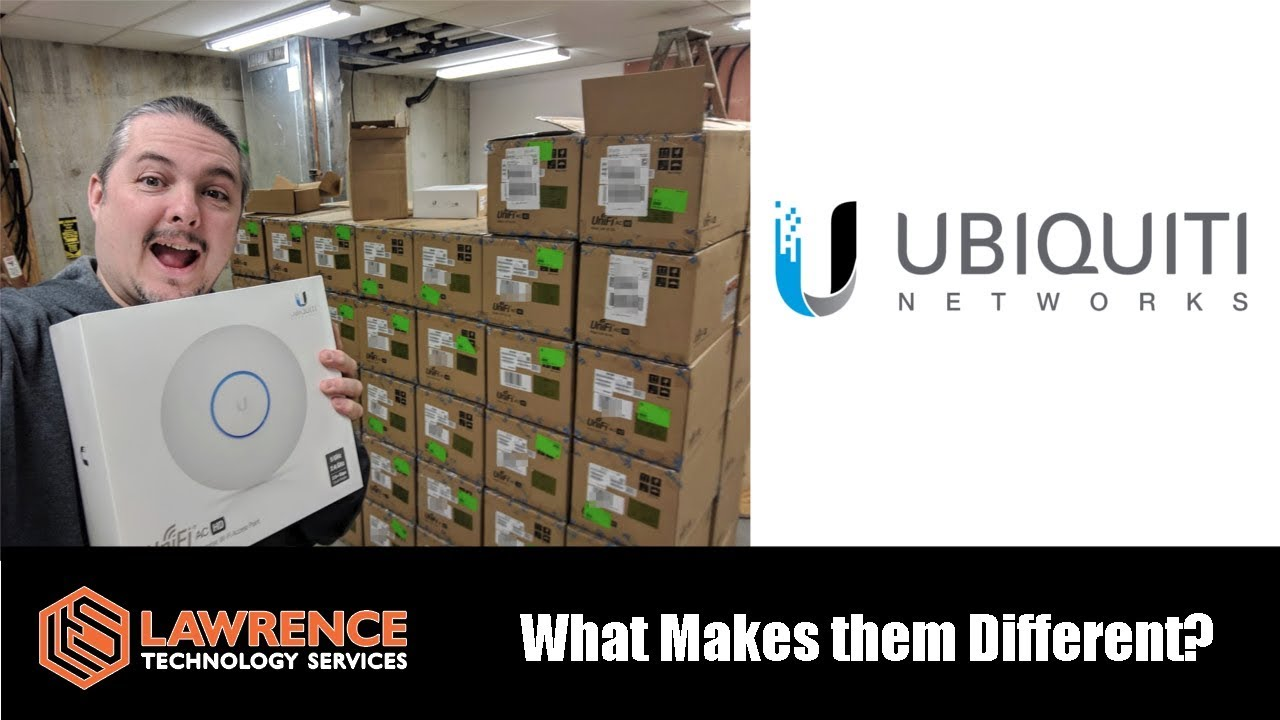 Why We Install So Many UniFi / Ubiquiti Networks and What Makes Them Different.