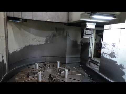 2012 Youji YV 1200 ATC+C VTL Ram   Toolchange Operation Video