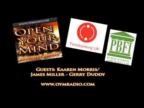 Open Your Mind (OYM) Radio - Kaaren Morris - James Miller/Gerry Duddy - June 21st 2015