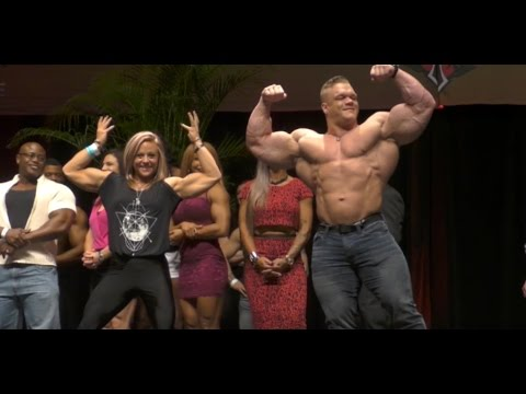 Dallas McCarver Guest Posing - IFBB Mel Chancey Port Charlotte Pro 2016