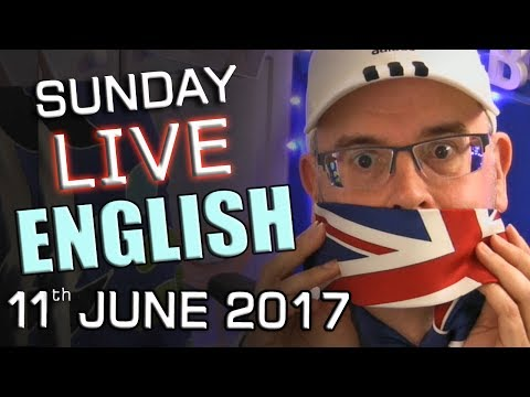 Learn English LIVE lesson - Sunday Chat - 11th June 2017 - What is BREXIT? - with Mr Duncan