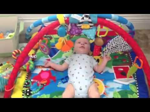 257dcf502fdf Baby Einstein Caterpillar and Friends Play Gym - YouTube