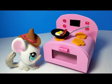 How to Make an LPS Stove Oven : Doll Kitchen DIY