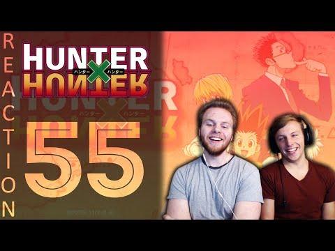 SOS Bros React - HunterxHunter Episode 55 - The Clown's Scheme