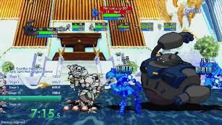 Speedrun Guardian Heroes Original Normal Sky Spirit Path WR 13:15