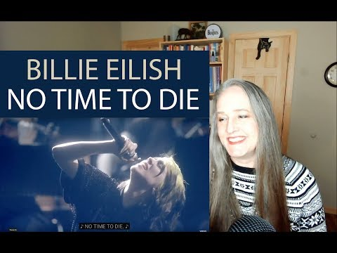 Voice Teacher Reaction to Billie Eilish – No Time To Die  | Live From The BRIT Awards