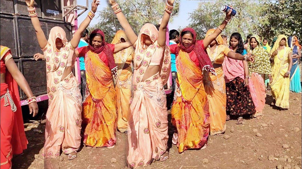 2021 Best Female Dance !! Bharadi Timli Song !! VK BHURIYA SONG !! Mahakali DJ Sound Para